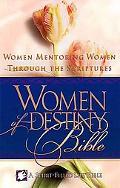 Women Of Destiny Bible Women Mentoring Women Through The Scriptures