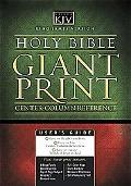 Holy Bible King James Version Classic Giant Print Center Column Reference Bible