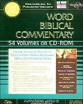 Word Biblical Commentary on CD-ROM: 54 Volume Edition - Nelson Electronic Publishing - Multi...