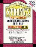 New Strong's Expanded Exhaustive Concordance of the Bible Red-Letter Edition