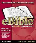 Ebible Deluxe Edition: The One-Click Bible Study Library