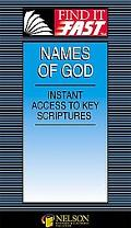 Names of God Instant Acess to Key Sciptures