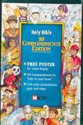 Holy Bible New King James Version: 10 Commandments Edition : Teal Leatherflex