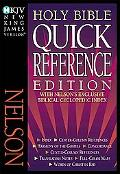 NKJV Quick Reference Bible