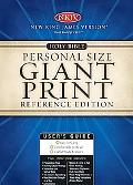 Holy Bible Giant Print Personal Size Reference Edition