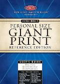 Holy Bible New King James Version, Bugundy, Personal Size Giant Print