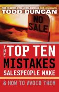 Top Ten Mistakes Salespeople Make & How to Avoid Them