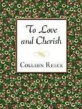 To Love and Cherish (Thorndike Press Large Print Candlelight Series)