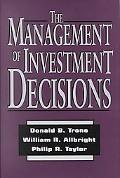 Management of Investment Decisions