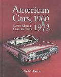 American Cars, 1960-1972 Every Model, Year by Year