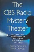 CBS Radio Mystery Theater An Episode Guide and Handbook to Nine Years of Broadcasting, 1974-...