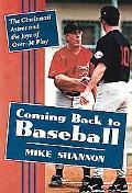 Coming Back To Baseball The Cincinnati Astros And The Joys Of Over-30 Play