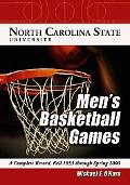 North Carolina State University Men's Basketball Games