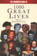 Mammoth Book of 1001 Great Lives - Michael Jones - Paperback