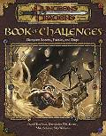 Book of Challenges Dungeon Rooms, Puzzles, and Traps
