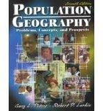 Population Geography: Problems, Concepts and Prospects