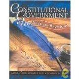 Constitutional Government: The American Experience