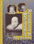 Renaissance & Reformation Primary Sources