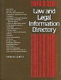 Law and Legal Information Directory A guide to More Than 19,500 National and International O...