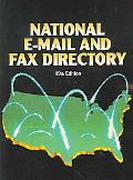 National E-mail and Fax Directory