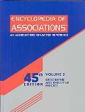 Encyclopedia of Associations International Organizations Geographic & Executive Index