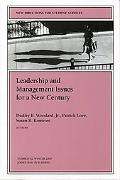 Leadership and Management Issues for a New Century