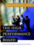 High-Performance Board Principles of Nonprofit Organization Governance