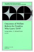 Outcomes of Welfare Reform for Families Who Leave Tanf