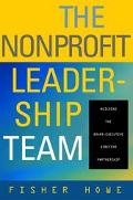 Nonprofit Leadership Team Building the Board Chair-Executive Director Partnership