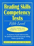 Reading Skills Competency Tests Fifth Level