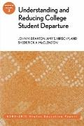 Understanding and Reducing College Student Departure: ASHE-ERIC Higher Education Report, Vol...