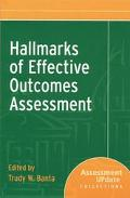 Hallmarks of Effective Outcomes Assessment Assessment Update Collections
