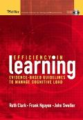 Efficiency in Learning Evidence-based Guidelines to Manage Cognitive Load