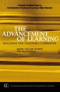 Advancement of Learning Building the Teaching Commons