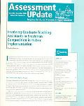 Assessment Update Progress, Trends, and Practices in Higher Education, November-december 2006