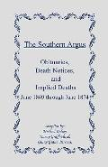 Southern Argus: Obituaries, Death Notices and Implied Deaths 1869-1874
