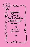 Edgefield County, South Carolina: Deed Books 30 and 31
