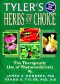 Tyler's Herbs of Choice The Therapeutic Use of Phytomedicinals