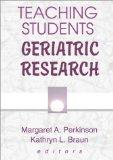 Teaching Students Geriatric Research