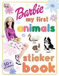 Barbie My First Animals Sticker Book