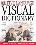 5-Language Visual Dictionary English, French, German, Spanish, Italian