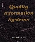 Quality Information Systems - Fatemeh Zahedi - Hardcover