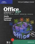 Microsoft Office Xp Introductory Concepts and Techniques  Word 2002, Excel 2002, Access 2002...