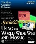 Special Edition Using the World Wide Web with Mosaic - Bill Eager - Paperback - Special ed