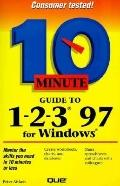 10 Minute Guide to 1-2-3 for Windows 95