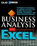 Business Analysis With Excel-w/3disk