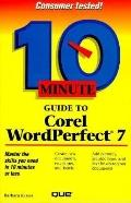 10 Minute Guide to WordPerfect for Windows 95