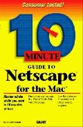 10 Minute Guide to NetScape for the MAC - Noel Estabrook - Paperback