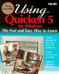 Using Quicken for Windows 95