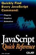 Javascript Quick Reference: EU 633